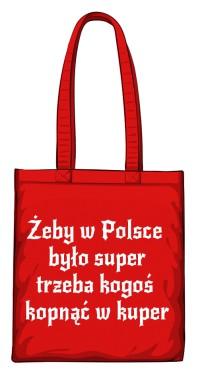 torba kuper czerwona