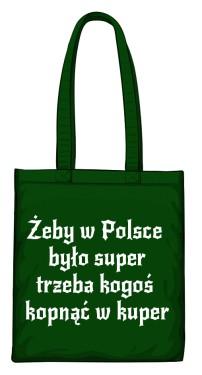 torba kuper zielona