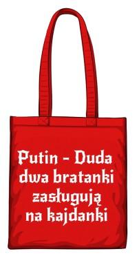 torba putin czerwona