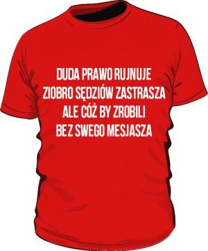 koszulka mesjasz czerwona
