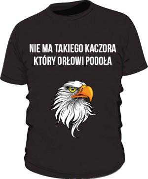 koszulka orzeł czarna