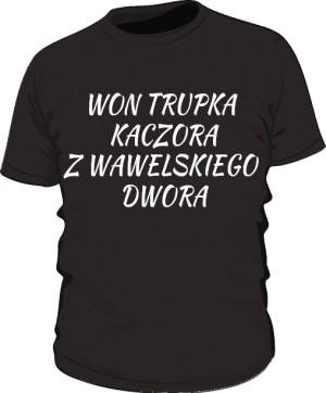 koszulka won czarna
