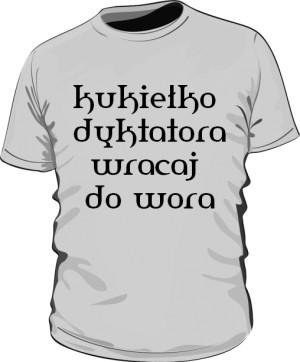 koszulka kukiełka szara
