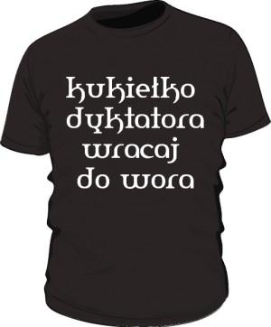 koszulka kukiełka czarna