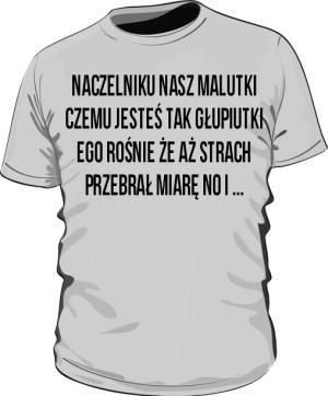 koszulka naczelnik szara