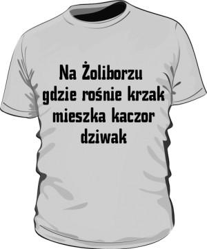 koszulka krzal szara