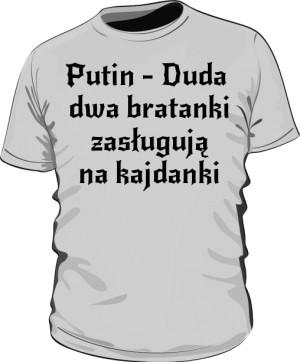 koszulka putin szara