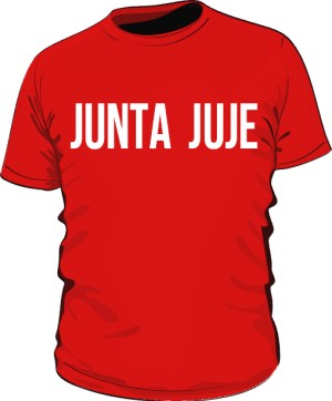 koszulka junta czerwona