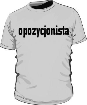 koszulka opozycjonista szara