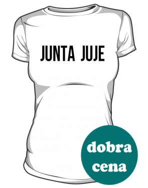koszulka junta biała