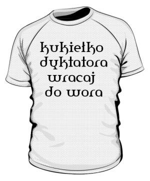 koszulka kukiełka sportowa