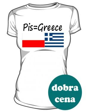koszulka greece biała