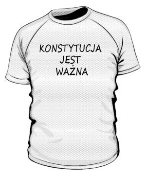 koszulka konstytucja sportowa