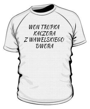 koszulka won sportowa