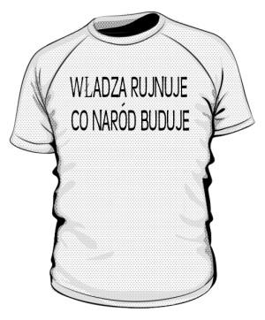 koszulka rujnuje sportowa