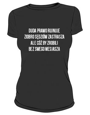 koszulka mesjasz czarna