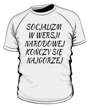 koszulka socjalizm sportowa