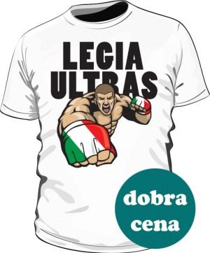 Koszulka LEGIA ULTRAS biała