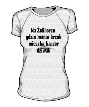 koszulka krzak sportowa damska