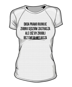 koszulka mesjasz sportowa damska