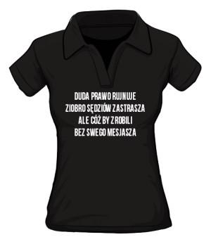 koszulka mesjasz polo damska