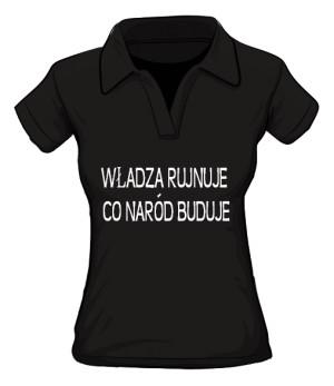koszulka rujnuje polo damska
