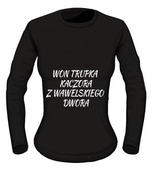 koszulka won long damska