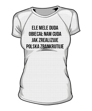 koszulka ele mele sportowa damska