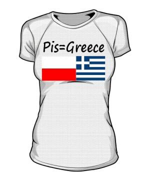 koszulka greece sportowa damska