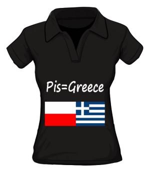 koszulka greece polo damska