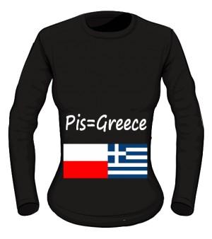 koszulka greece long damska