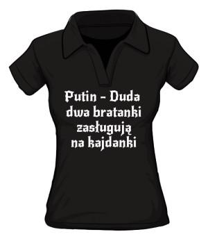 koszulka putin polo damska