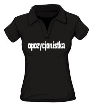 koszulka opozycjonistka polo damska