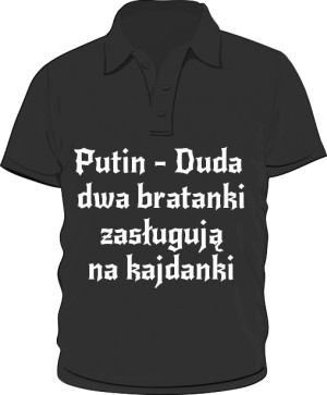 koszulka polo putin