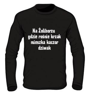 koszulka long krzak