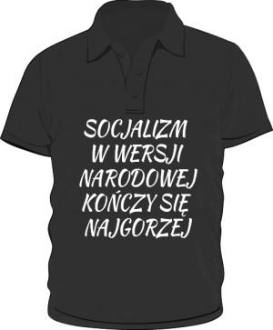 koszulka polo socjalizm