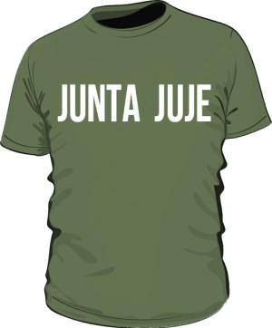 koszulka junta  zielona