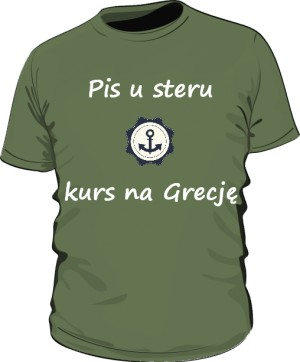 koszulka ster zielona