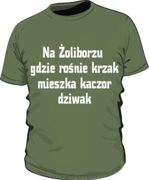 koszulka krzak