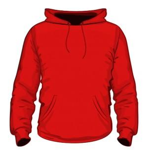 Bluza Czerwona Męska