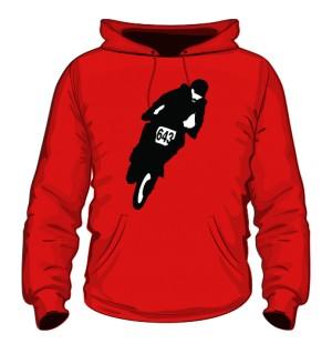 Męska czerwona bluza