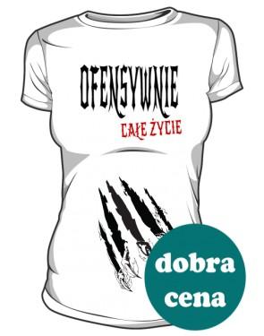 Ofensywna Koszulka Biała Premium
