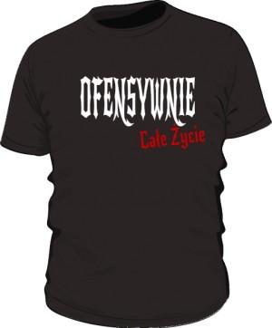 Ofensywna Koszulka Czarna