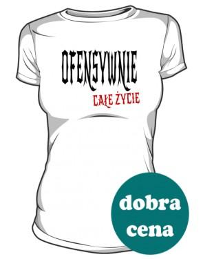 Ofensywna Koszulka Biała