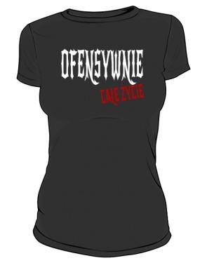 Pół Ofensywna Koszulka Czarna