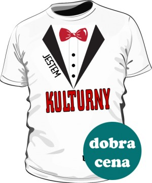 Kulturna Koszulka męska