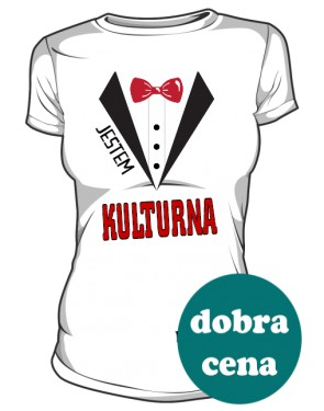 Kulturna koszulka damska 2