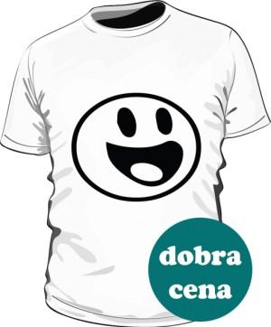 Koszulka Biała jutro na siłowni