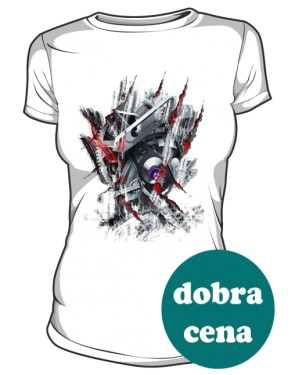 Machine Inside koszulka Damska
