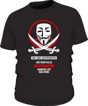 Anonymous  koszulka męska